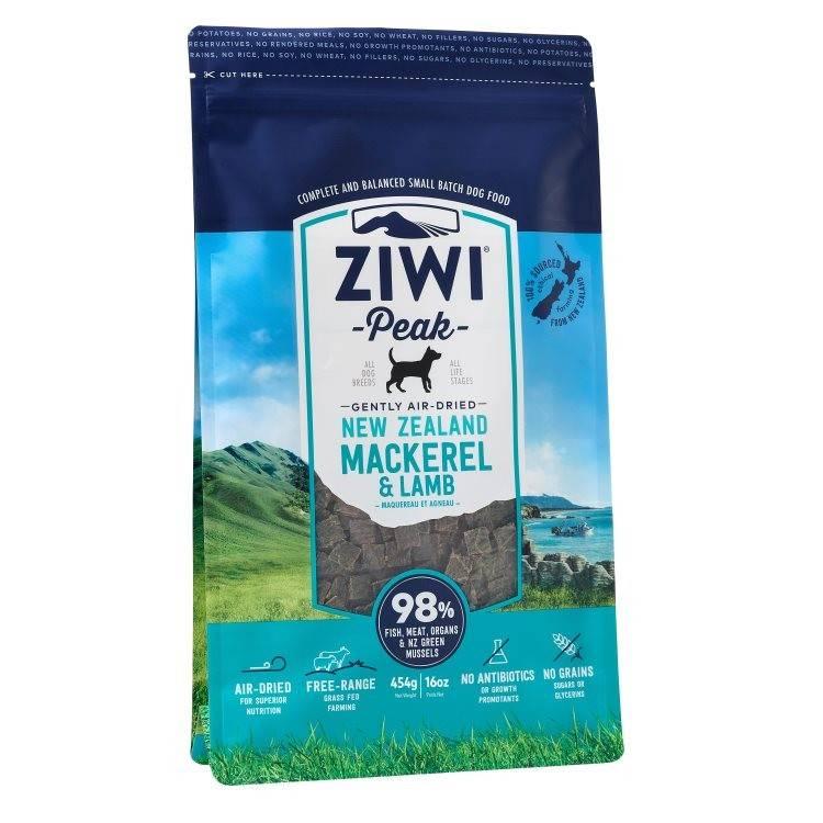 "Ziwipeak Ziwipeak-Air Dried Dog Food ""Mackerel & Lamb"""