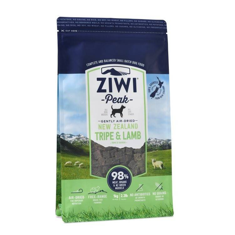 Ziwipeak Ziwipeak - Air Dried Dog Food Tripe & Lamb
