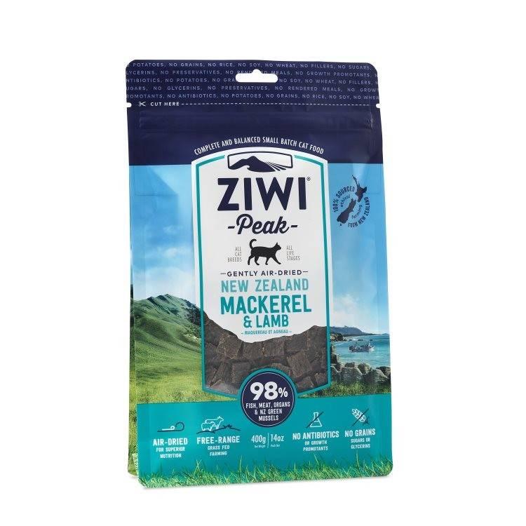 Ziwipeak Ziwipeak- Air Dried Cat Food 400g