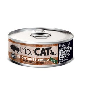 Tripett Petkind- Canned Cat Food tripeCat 156g