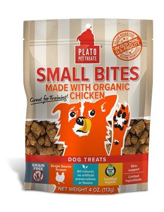 Plato Pet Treats Plato- Small Bites 2.5oz