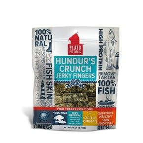 Plato Pet Treats Plato-Hundur's Crunch Jerky 100g