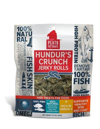 Plato Pet Treats Plato-Hundur's Crunch Jerky 100g