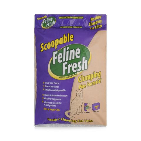 Feline Fresh Feline Fresh Natural Pine Cat Litter-Clumping 34lb