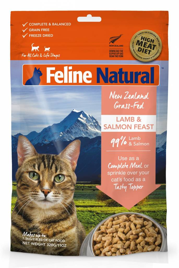 K9 Natural Feline Natural - Freeze Dried Cat Food 320g