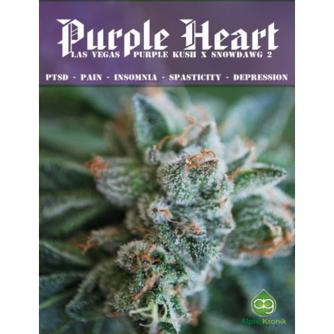 Alphakronik Purple Heart 5 Reg pk
