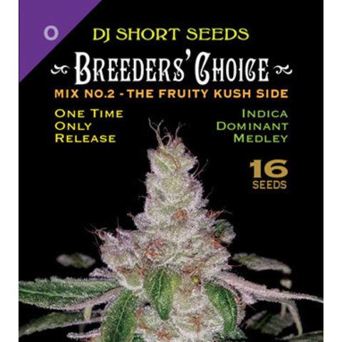 DJ Short Breeders' Choice Mix #2 Reg 16 pk