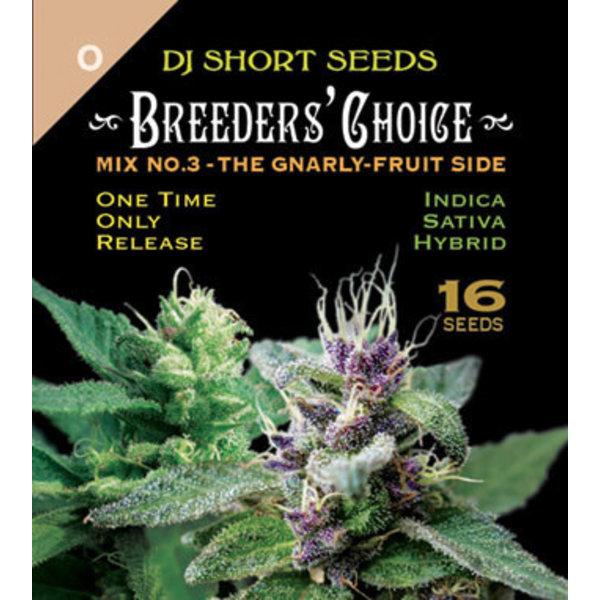 DJ Short Breeders' Choice Mix #3 Reg 16 pk