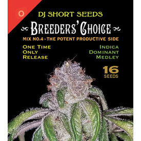 DJ Short DJ Short Breeders' Choice Mix #4 Reg 16 pk