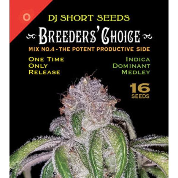 DJ Short Breeders' Choice Mix #4 Reg 16 pk