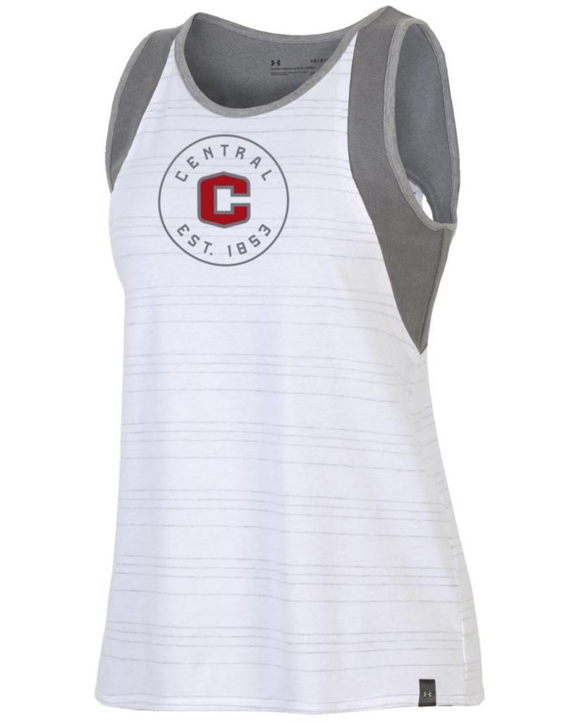 UA UA Ladies Training Camp Tank White
