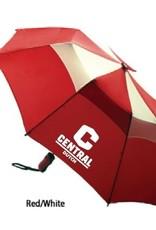 """KASA Kasa Umbrella 44"""" Red/White with C logo"""