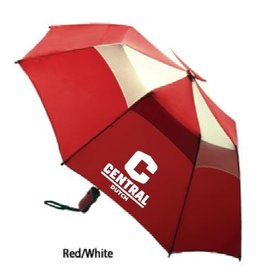 "KASA Kasa Umbrella 44"" Red/White with C logo"