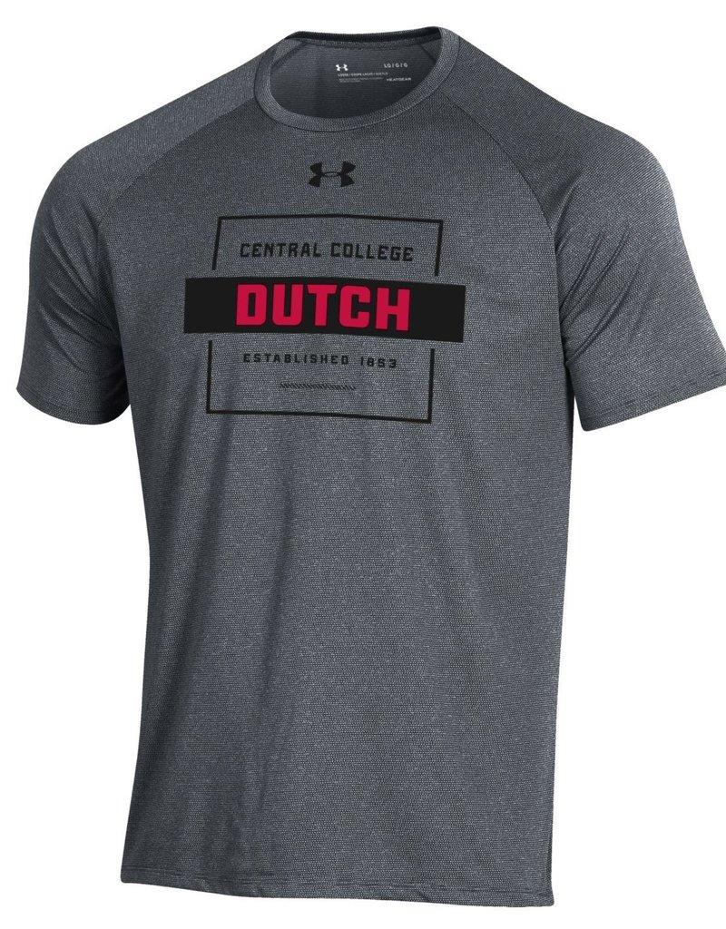 UA UA Tech Tee Square Dutch Gray