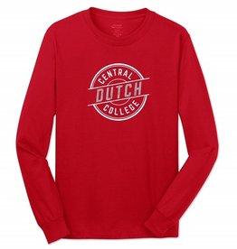 College Kids CK Essential Tee LS Red