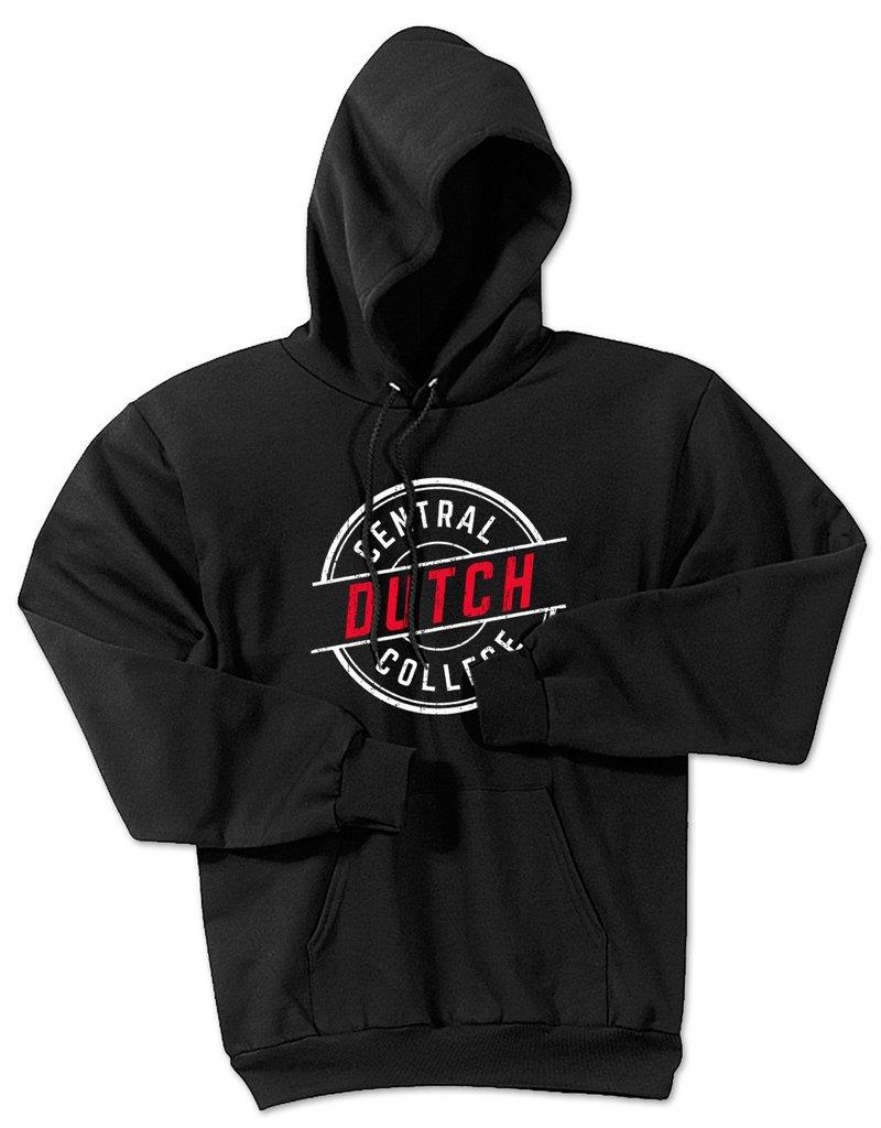 College Kids CK Essential Fleece Hood Black