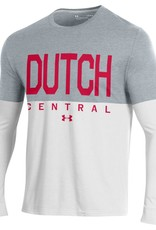 UA UA Performance Dutch Half LS Tee