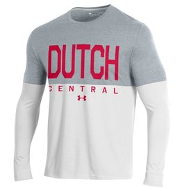 UA UA Performance Dutch Half LS Tee