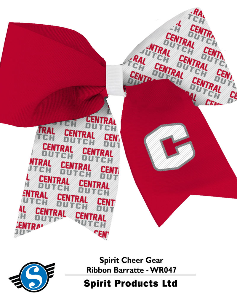 SPIRIT PRODUCTS Spirit Products Cheer Ribbon Barrette