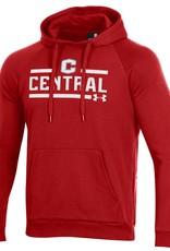 UA UA All Day Fleece Hood Red