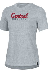 UA UA Performance Cotton Cursive Central Gray