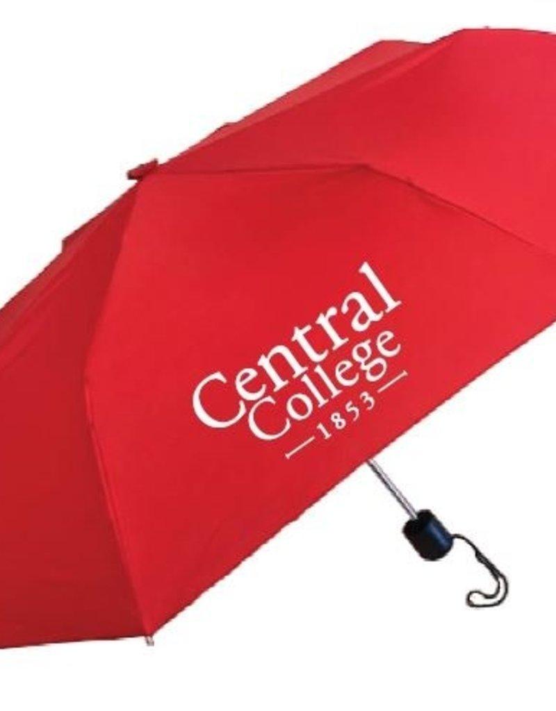 "KASA Kasa Umbrella 43"" Super Mini red w academic logo"