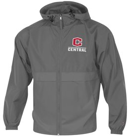 CHAMP Champion Full Zip Lightweight Jacket Graphite w/Red C