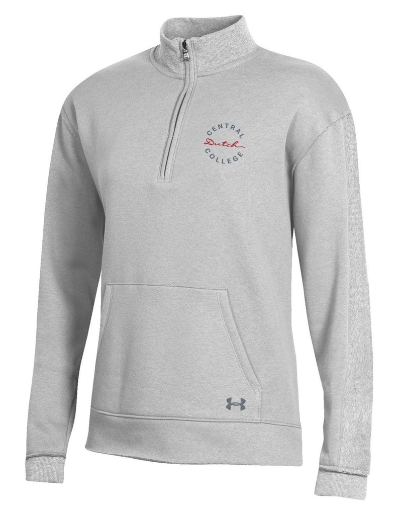 UA UA All Day 1/4 Zip Silver Heather
