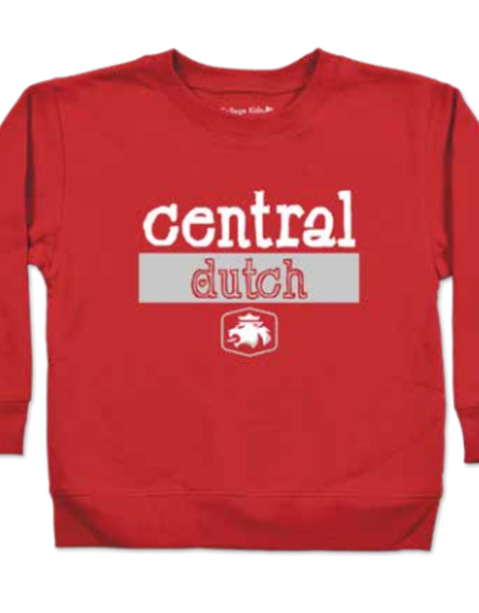 College Kids College Kids Central Dutch Lion Crew Red
