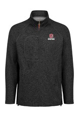 MV MV Sport Women's Full Zip Sweater Asphalt