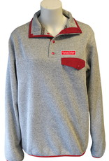 SUMMIT Summit Sweater Snap Red