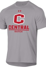 UA UA Tech Tee C logo gray