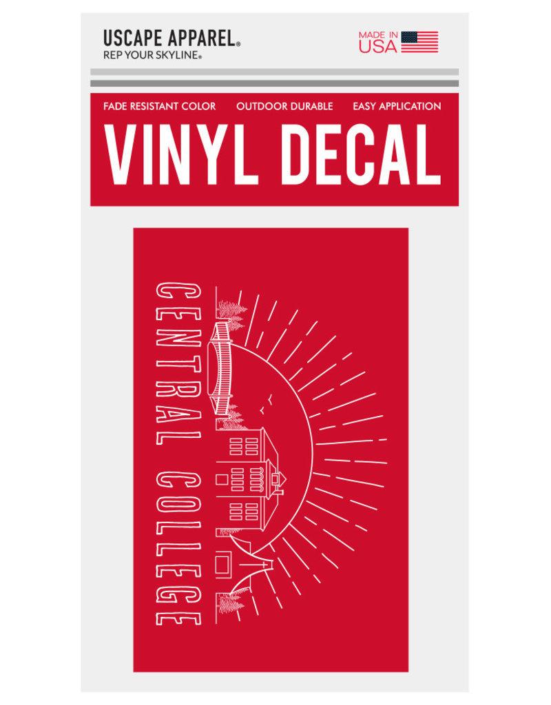 Uscape Apparel Uscape Rectangle Vinyl Decal