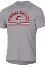 UA UA Tech Tee True Gray C Lines