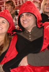 SRCASALES Fanwrap Poncho Sports Blanket
