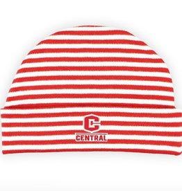 Creative Knitwear Creative Knitwear Knit Cap Red/Wht Stripe