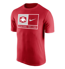 Nike Nike Tee Lion Swoosh Square Red