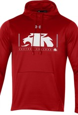 UA UA Armour Fleece 2.0 Half Lion Hood White