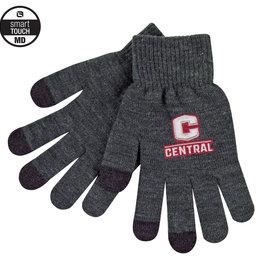 LOGOF Logofit Texting glove charcoal