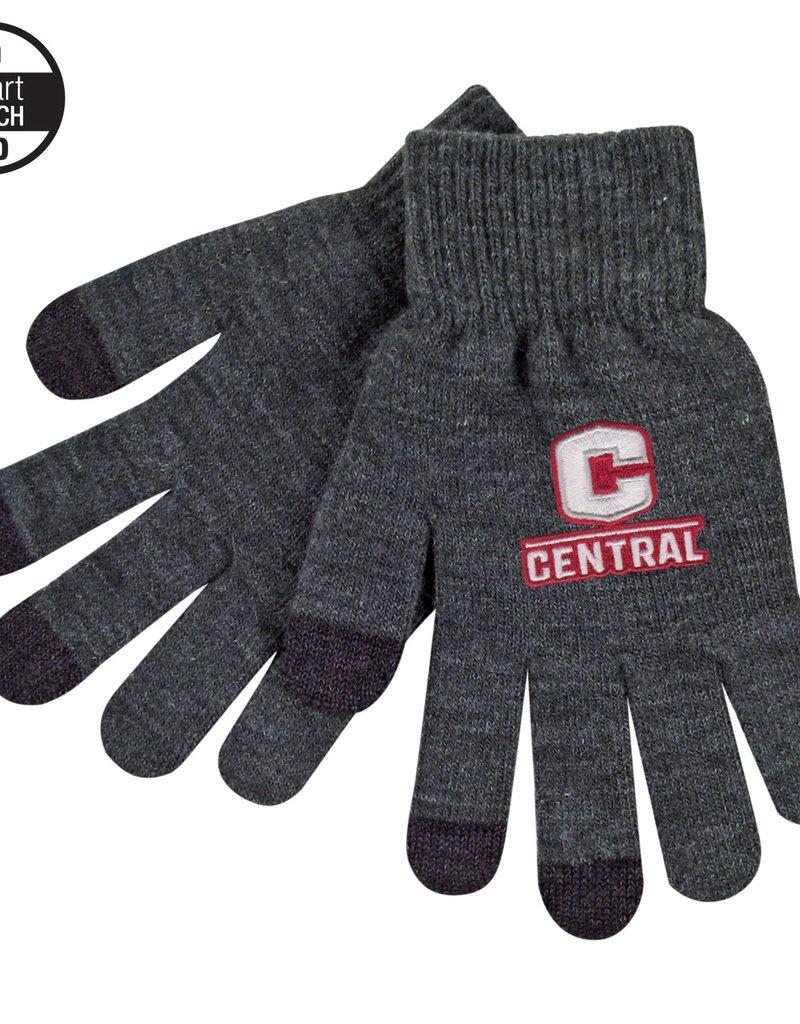 Logofit Texting glove charcoal
