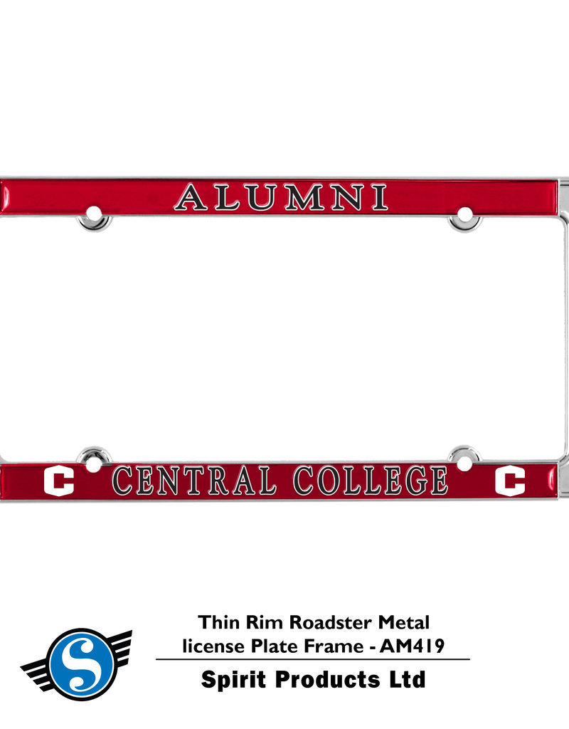 SPIRIT PRODUCTS Spirit Products License Plate Frame