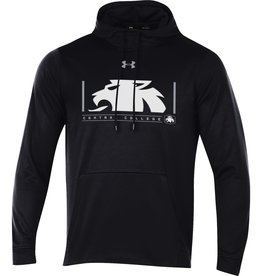 UA UA Armour Fleece 2.0 Half Lion Hood Black