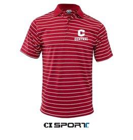CISPO CI Sport Double Stripe polo red/white