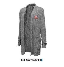 CISPO CI Sport Easy Fit Cardigan Marble Grey