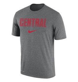 Nike Nike Dri-Fit Cotton Thumb Print Gray