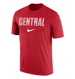 Nike Nike Dri-Fit Cotton Thumb Print Red