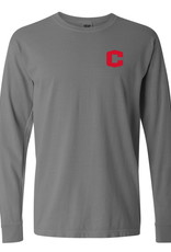 SUMMIT Summit Comfort Color Circle Back LS Gray