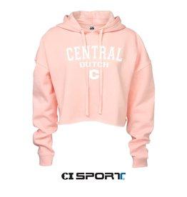 CISPO CI Sport Festival Crop Hood Pink