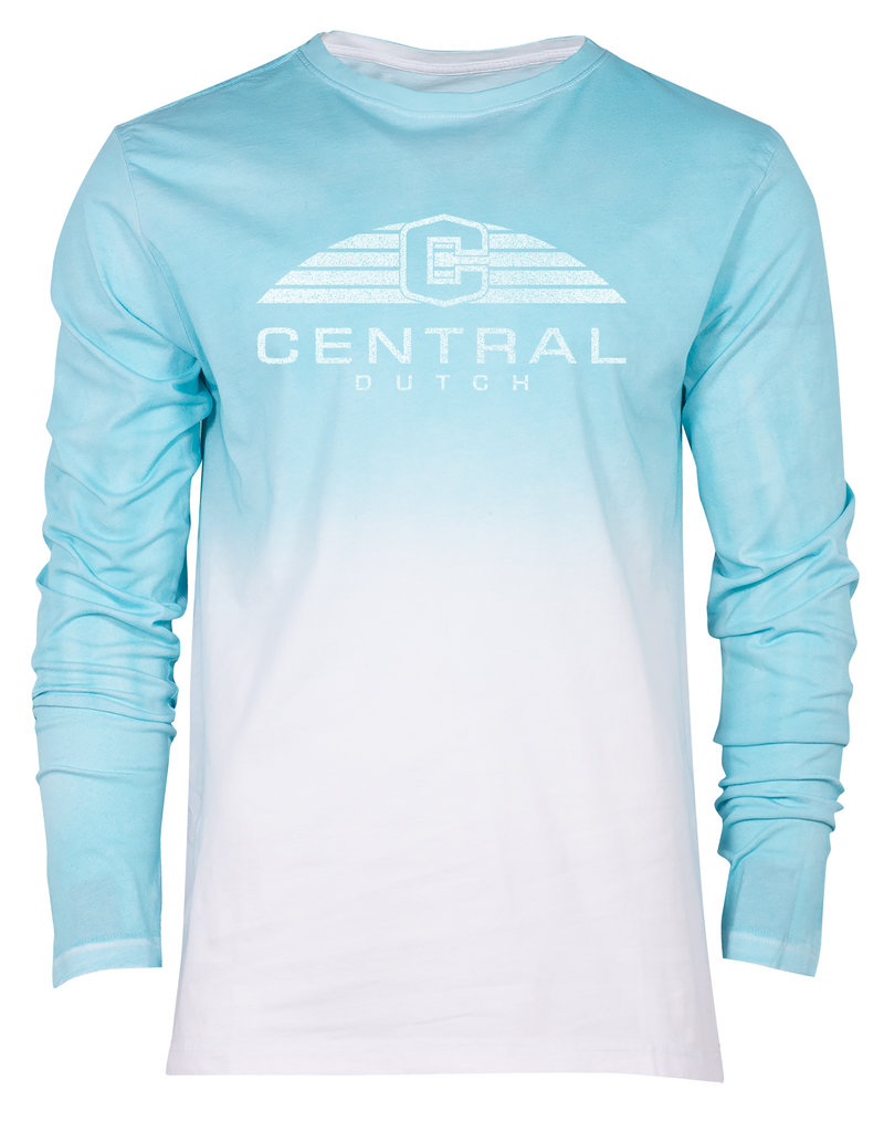 Ouray Ouray Dip Dyed Tee LS Teal