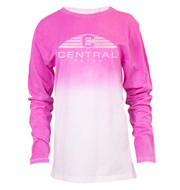 Ouray Ouray Dip Dyed Tee LS Pink